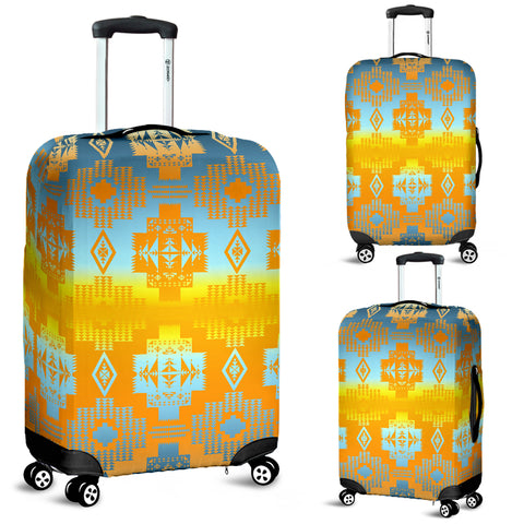Pretty Clouds Luggage Cover