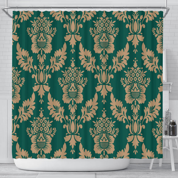 Baroque Sky Shower Curtain