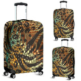 Lovely Natural Luggage Cover