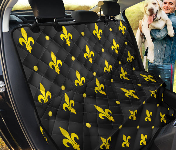 Yellow Royal Pet Seat Cover