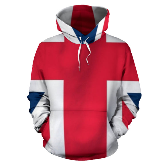 God Save The Queen All Over Hoodie