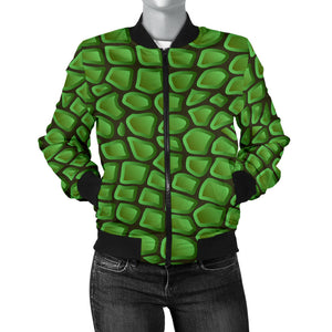 In Love With Crocodile Women's Bomber Jacket