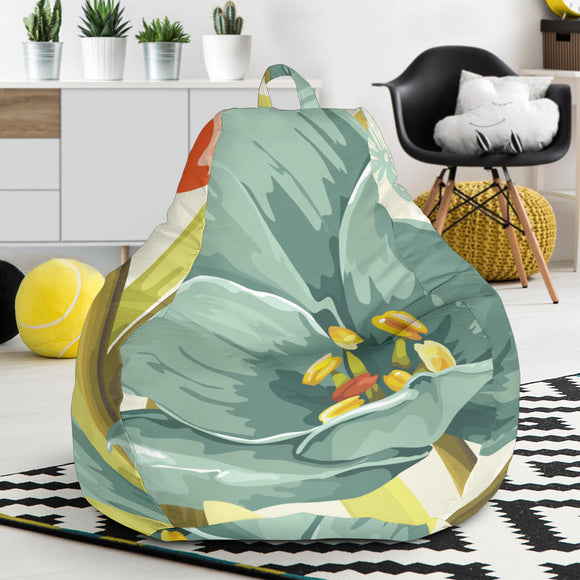 Lovely Flowers Bean Bag Chair