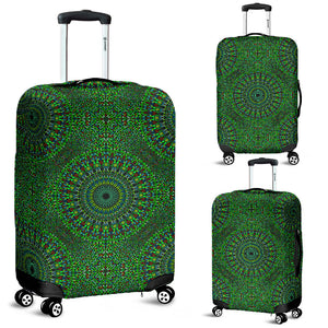 Oriental Green Love Luggage Cover