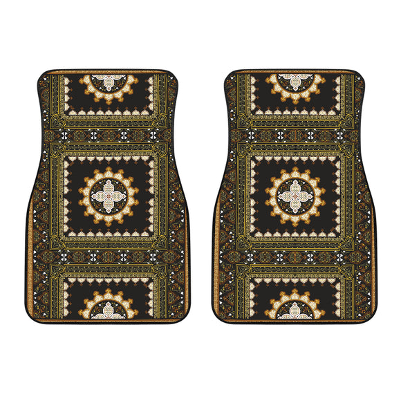 Luxury Oriental Mandala Carpet 5 Front Car Mats