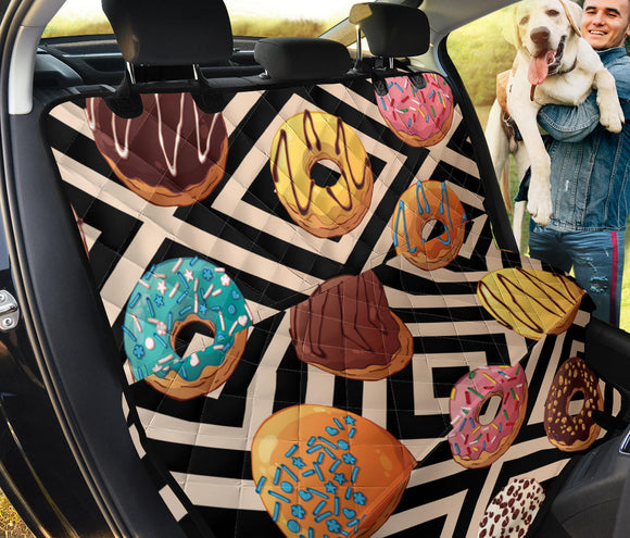 Sweet Donuts Pet Seat Cover