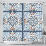 Oriental Vibes Vol. 6 Shower Curtain
