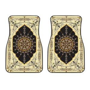 Luxury Oriental Mandala Carpet 17 Front Car Mats