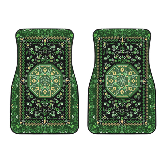 Luxury Oriental Mandala Carpet 7 Front Car Mats