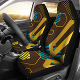 Experimental Gold Car Seat Cover