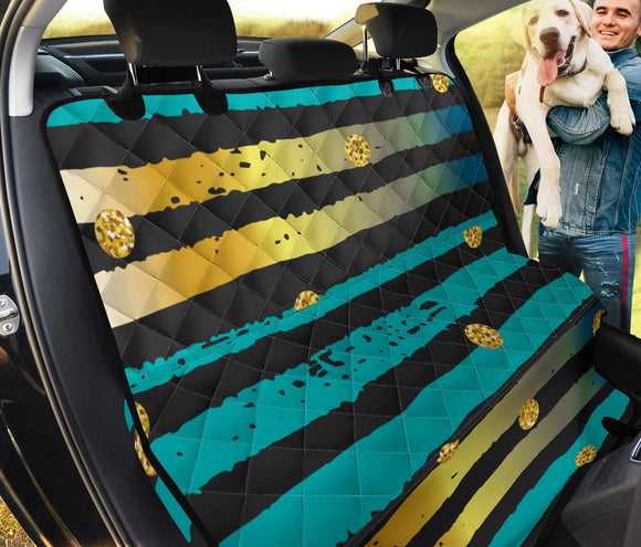 Luxury Neon Strips Pet Seat Cover