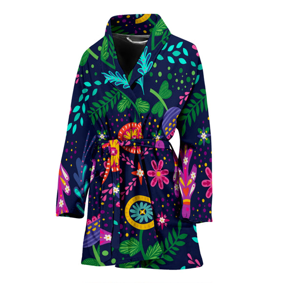 Beautiful Spring Love Women's Bath Robe