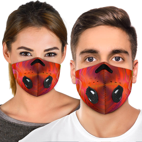 Colorful Future Design One Premium Protection Face Mask