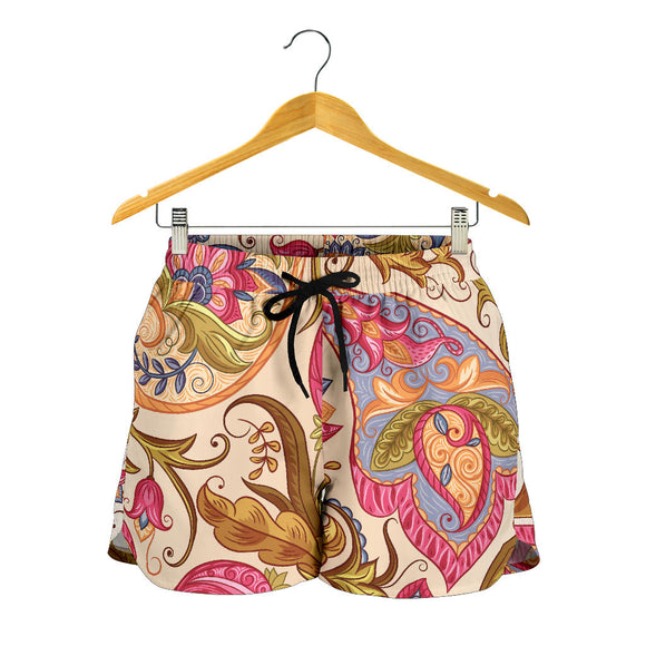 Royal Paisley Women's Shorts