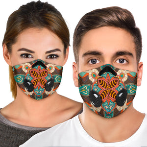 Most Beautiful Mandala Three Premium Protection Face Mask