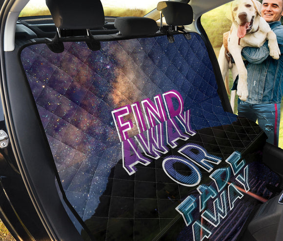 Find Away Or Fade Away Pet Seat Cover