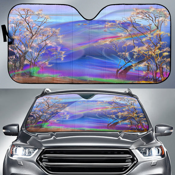 Surreal Night Auto Sun Shades