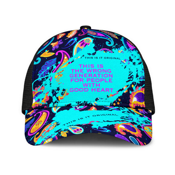 This is the wrong generation. Mesh Back Cap Paisley Design