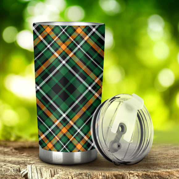 Perfect Green Tartan Magical Dream Tumbler