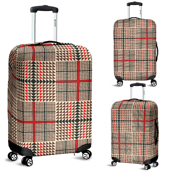Awesome Tartan Plaid Luggage Cover