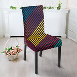 Party Lights On Dining Chair Slip Cover