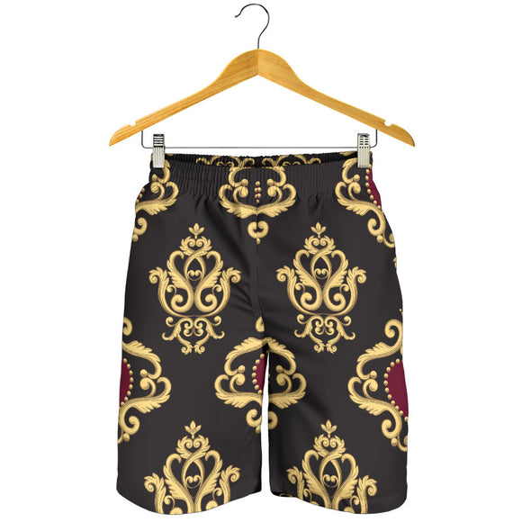 Luxury Royal Hearts Men's Shorts