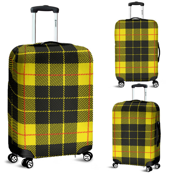 Yellow Tartan Passion Luggage Cover