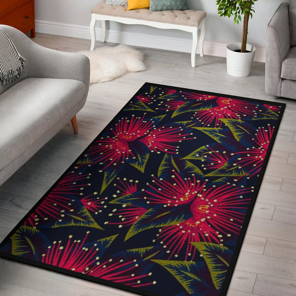 Romantic Flowery Home Area Rug