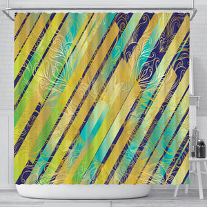 Splash Lights Shower Curtain