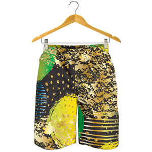 Energizing Neon Dots Men's Shorts
