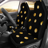 Luxury Golden Dots Car Seat Cover