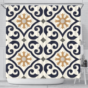 Oriental Vibes Vol. 5 Shower Curtain