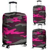 Silver Army Style Luggage Cover