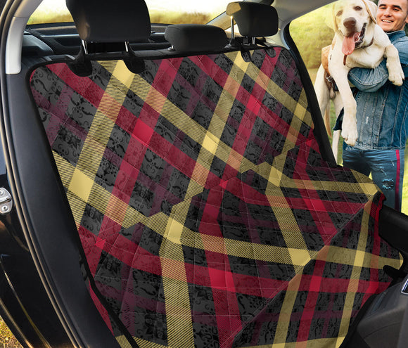 Exclusive Tartan Pet Seat Cover