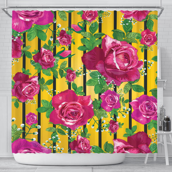 Luxury Rose Shower Curtain