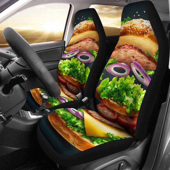 Perfect Sweet Burger Car Seat Covers