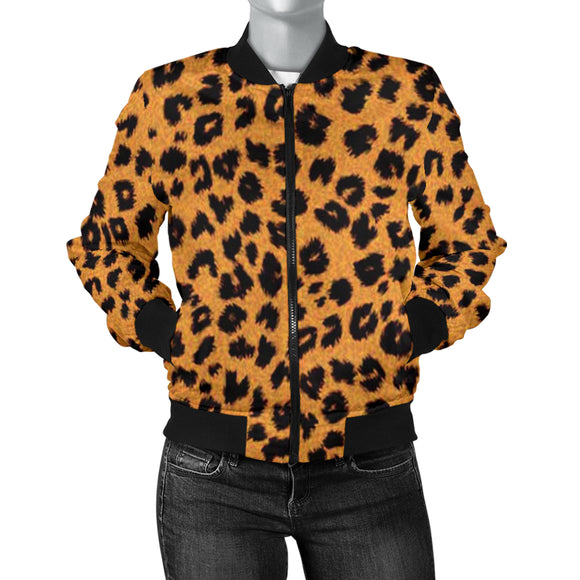 Supernatural Cheetah Women's Bomber Jacket