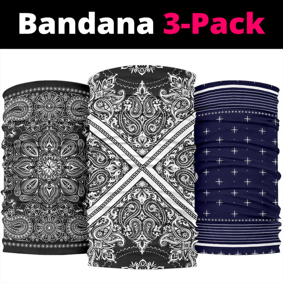 Bandana on Bandana 3-Pack