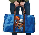 Special Blue Army Design - Captain Skull & Octopus Style - Worry Less - Travel Bag
