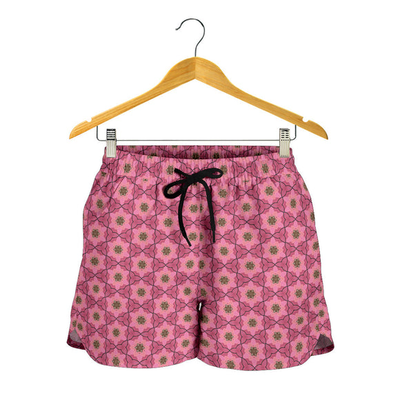 Lovely Pink Vol. 2 Women's Shorts
