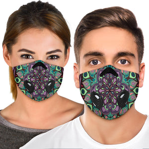 Beautiful Vibes Mandala Two Premium Protection Face Mask