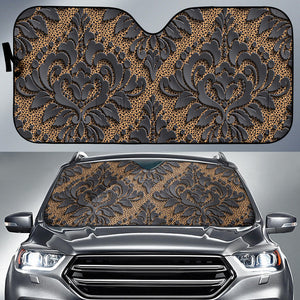 Royal Black Auto Sun Shades