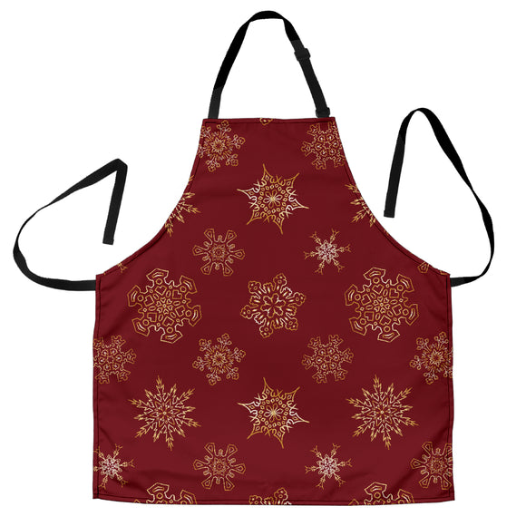 Christmas Red Good Vibes Only Women's Apron