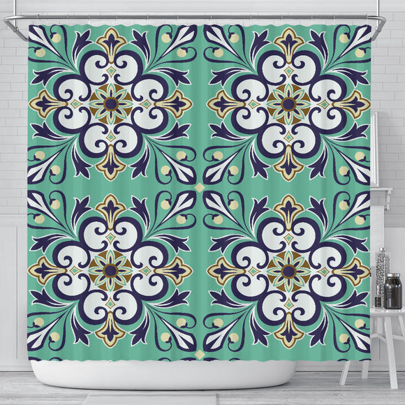 Oriental Vibes Vol. 3 Shower Curtain