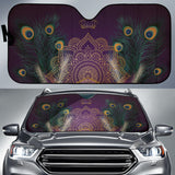 Peacock Crown Auto Sun Shades