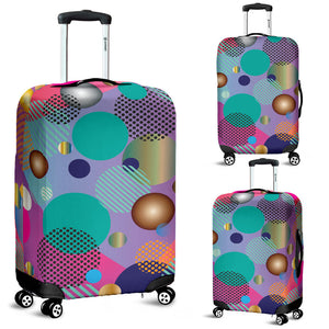 Pop Art Dots Luggage Cover
