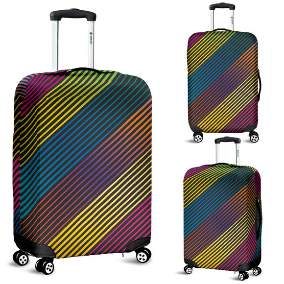 Party Lights On Luggage Cover