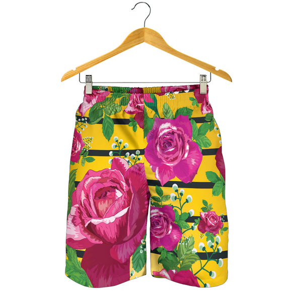 Luxury Rose Men's Shorts