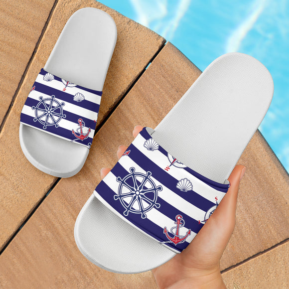 Yachting Lovers Club Slide Sandals