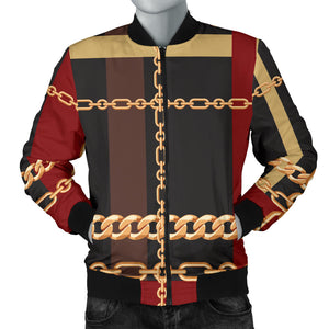 Extraordinary Chain Men's Bomber Jacket